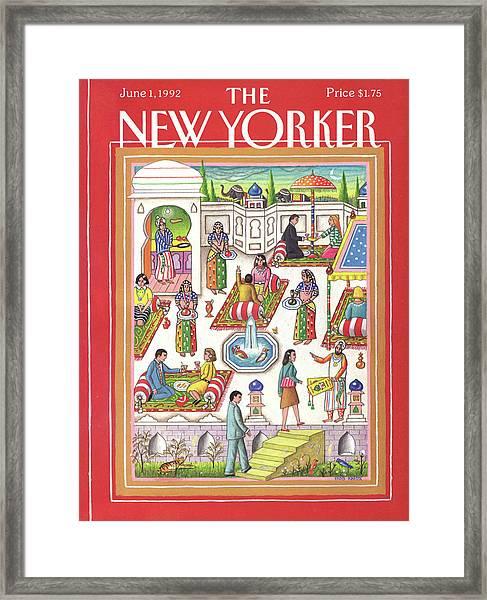 New Yorker June 1st, 1992 Framed Print