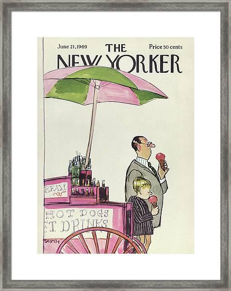 New Yorker June 21st, 1969 Framed Print