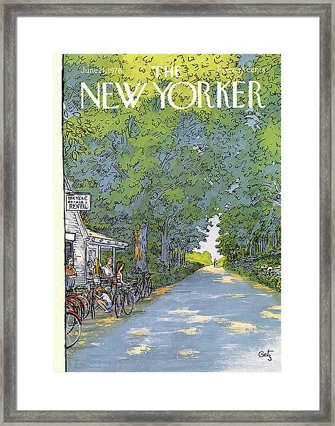 New Yorker June 21st, 1976 Framed Print