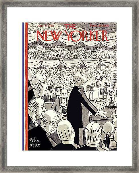 New Yorker June 22 1940 Framed Print