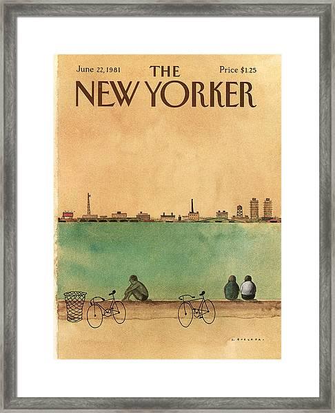 New Yorker June 22nd, 1981 Framed Print