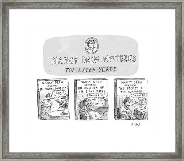 New Yorker June 22nd, 1998 Framed Print