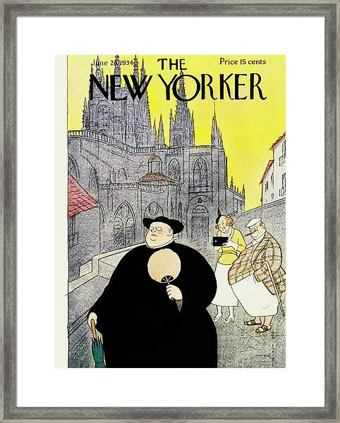 New Yorker June 23 1934 Framed Print