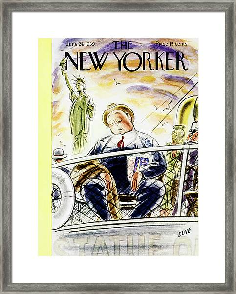 New Yorker June 24 1939 Framed Print by Leonard Dove