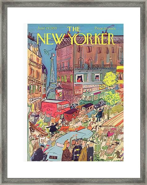 New Yorker June 24th, 1950 Framed Print
