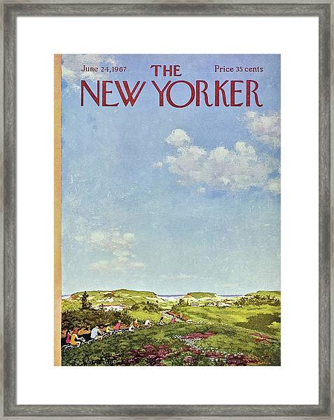 New Yorker June 24th 1967 Framed Print