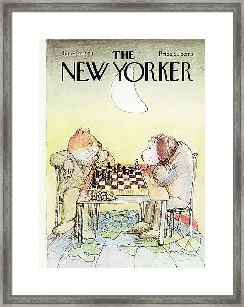 New Yorker June 24th, 1974 Framed Print