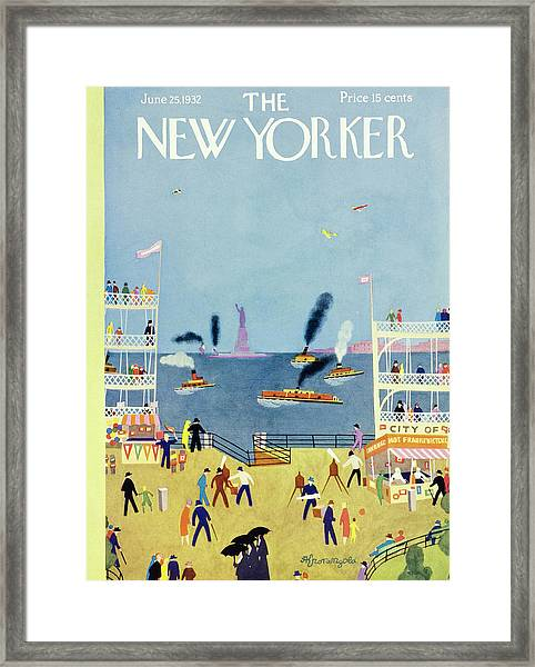 New Yorker June 25 1932 Framed Print