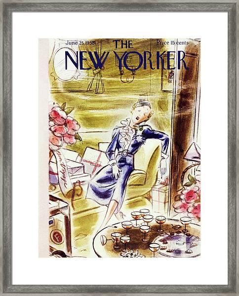New Yorker June 25 1938 Framed Print