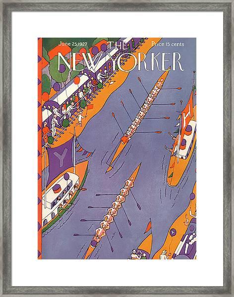 New Yorker June 25th, 1927 Framed Print