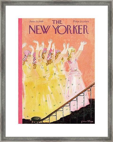 New Yorker June 25th, 1949 Framed Print