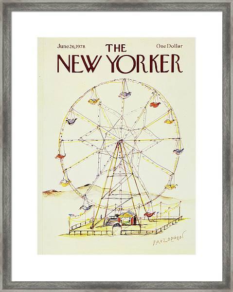 New Yorker June 26th 1978 Framed Print
