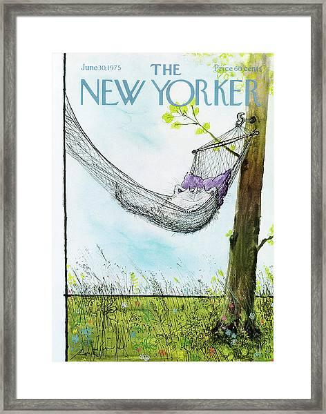 New Yorker June 30th, 1975 Framed Print