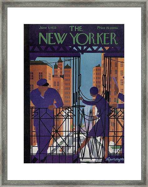 New Yorker June 3rd, 1933 Framed Print