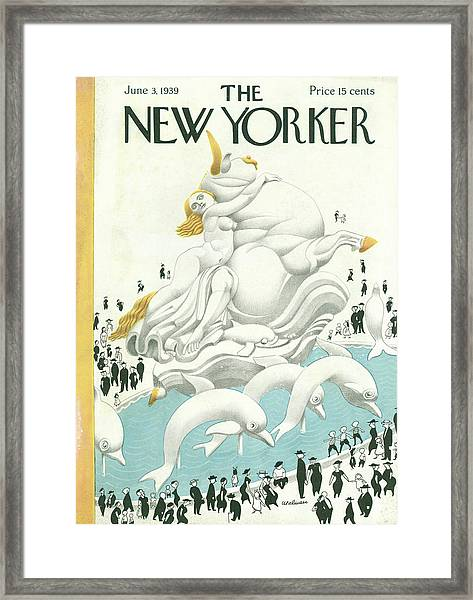 New Yorker June 3 1939 Framed Print