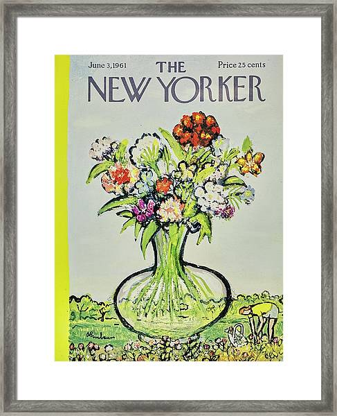 New Yorker June 3rd 1961 Framed Print