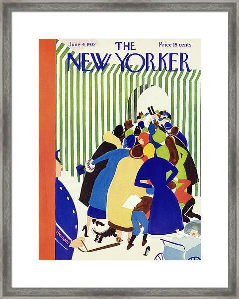 New Yorker June 4 1932 Framed Print