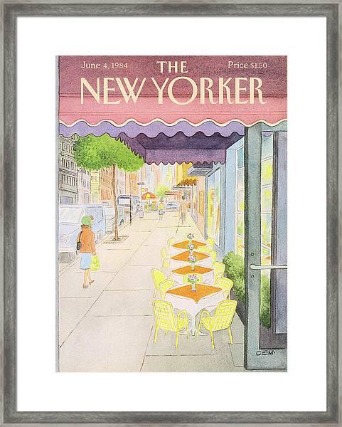 New Yorker June 4th, 1984 Framed Print