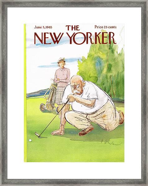 New Yorker June 5th, 1965 Framed Print