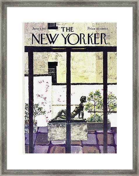 New Yorker June 5th 1971 Framed Print