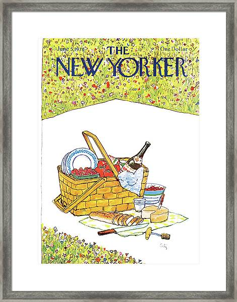 New Yorker June 5th, 1978 Framed Print