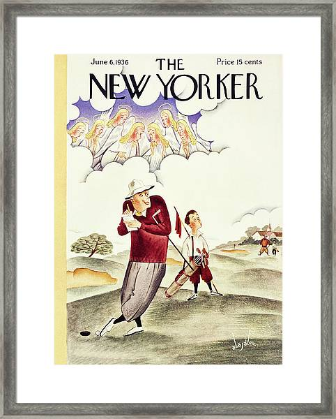 New Yorker June 6 1936 Framed Print