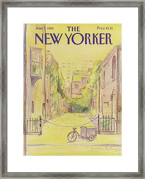 New Yorker June 7th, 1982 Framed Print