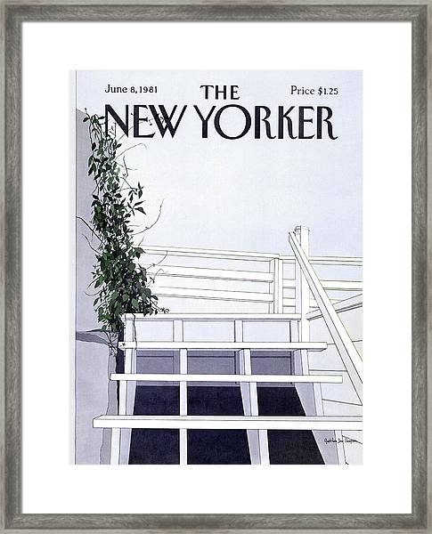 New Yorker June 8th, 1981 Framed Print by Gretchen Dow Simpson