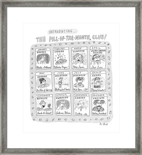 New Yorker June 8th, 1998 Framed Print
