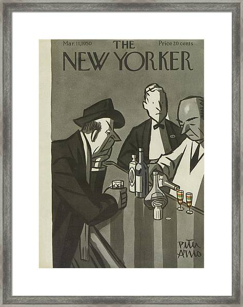 New Yorker March 11th, 1950 Framed Print