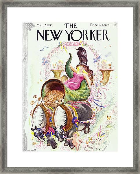 New Yorker March 12 1938 Framed Print