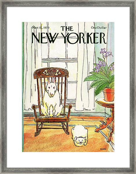 New Yorker March 12th, 1979 Framed Print