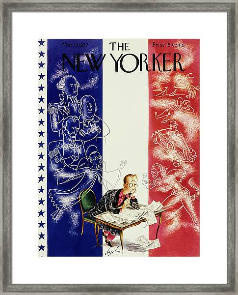 New Yorker March 13 1937 Framed Print