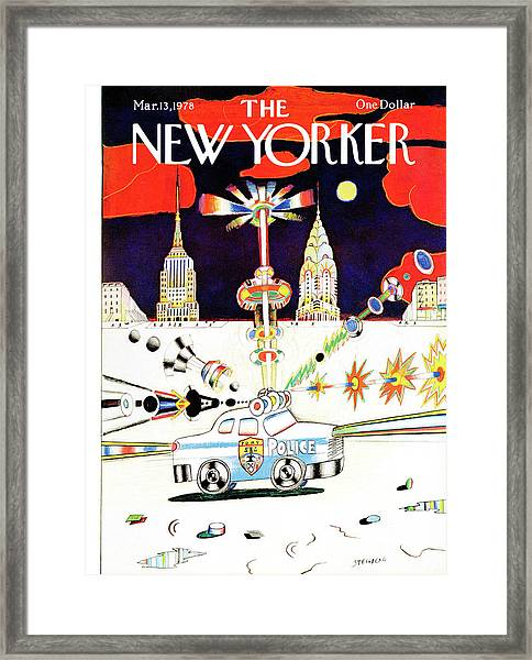 New Yorker March 13th, 1978 Framed Print