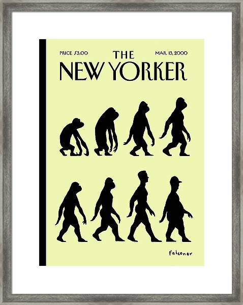 New Yorker March 13th, 2000 Framed Print