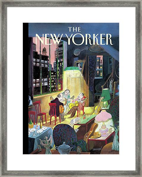 New Yorker March 13th, 2006 Framed Print