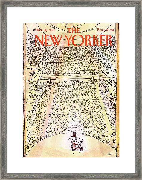 New Yorker March 14th, 1983 Framed Print