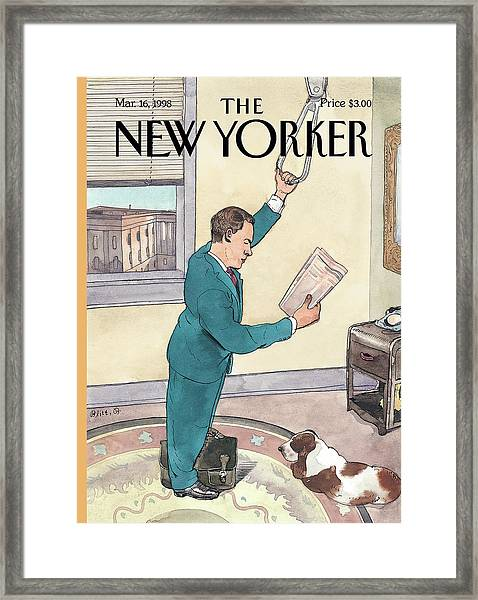 New Yorker March 16th, 1998 Framed Print