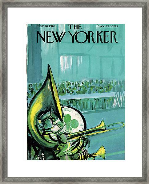 New Yorker March 18th, 1961 Framed Print
