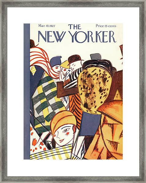 New Yorker March 19th, 1927 Framed Print
