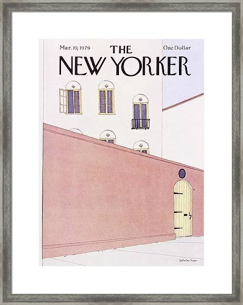 New Yorker March 19th 1979 Framed Print