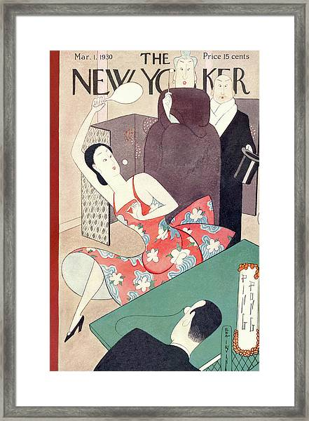 New Yorker March 1st, 1930 Framed Print