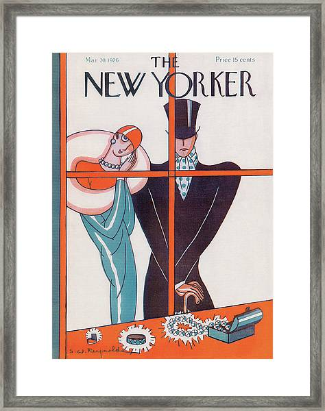 New Yorker March 20th, 1926 Framed Print