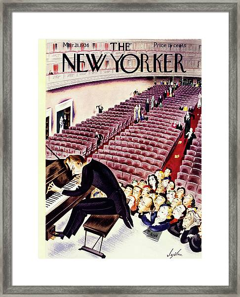 New Yorker March 21 1936 Framed Print