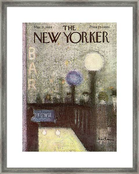 New Yorker March 21st, 1964 Framed Print