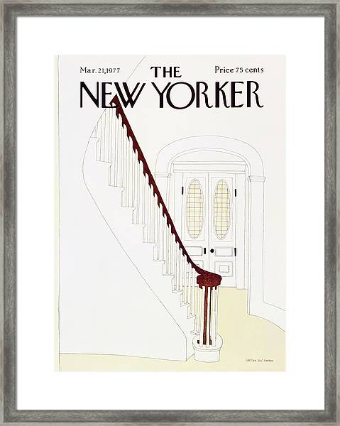 New Yorker March 21st 1977 Framed Print