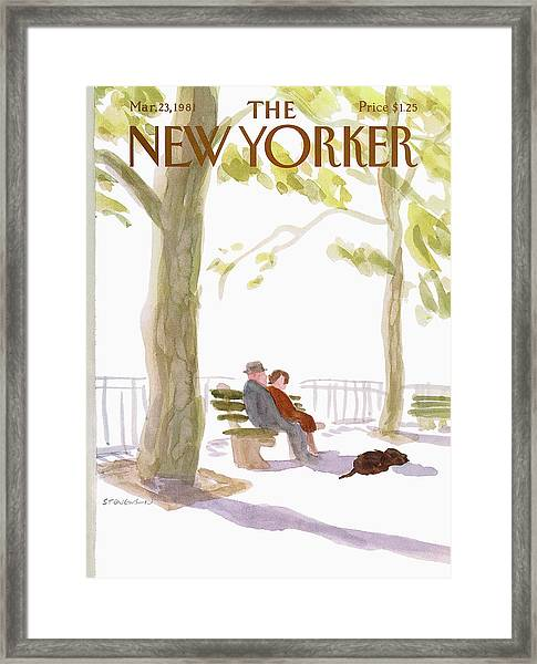 New Yorker March 23rd, 1981 Framed Print