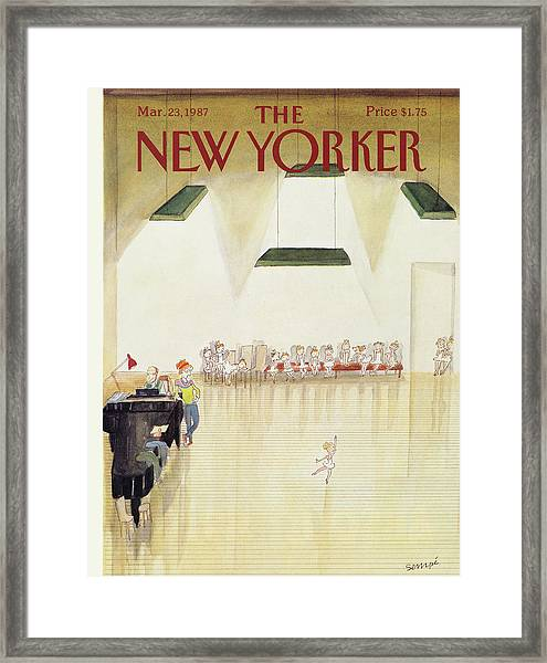 New Yorker March 23rd, 1987 Framed Print