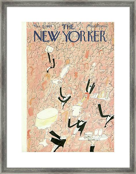 New Yorker March 25th, 1944 Framed Print