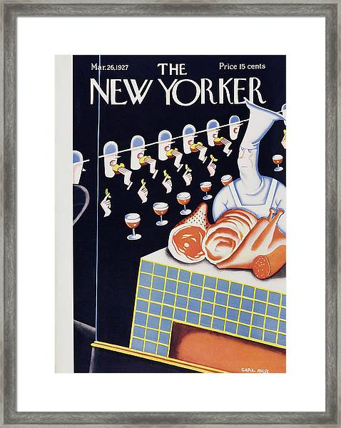 New Yorker March 26 1927 Framed Print